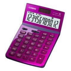 カシオ JF-Z200-PK-N デザイン電卓 12桁(ピンク)CASIO[JFZ200PKN]【返品種別A】