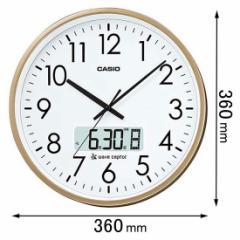 カシオ 電波掛時計 IC-2100J-9JF[IC2100J9JF]【返品種別A】