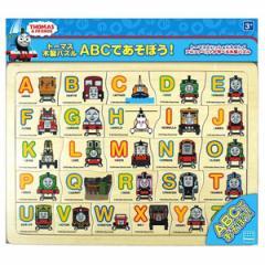 カワダ きかんしゃトーマス 木製パズル ABCであそぼう!パズル 【返品種別B】