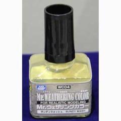 GSIクレオス Mr.ウェザリングカラー サンディウォッシュ【WC04】塗料 【返品種別B】