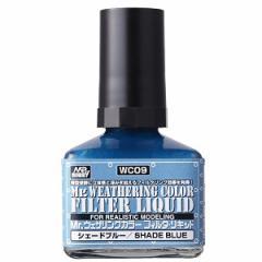 GSIクレオス Mr.ウェザリングカラー フィルタ・リキッド ブルーグレー【WC09】塗料 【返品種別B】