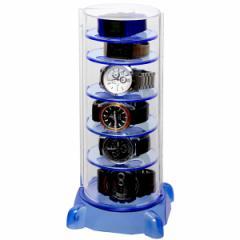 シンコハンガー タワー型時計コレクションケースコレクタワー・G CTG-BL[CTGBLシンコハンガ]【返品種別A】