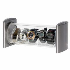 シンコハンガー スタック型時計コレクションケースコレクタワー・ウォッチスタック CTW-SV[CTWSVシンコハンガ]【返品種別A】