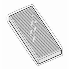 シャープ FZ-S51HF 空気清浄機用交換フィルターSHARP 制菌HEPAフィルター[FZS51HF]【返品種別A】