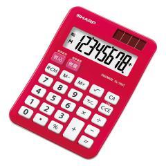 シャープ EL-760T-RX カラーデザイン電卓 8桁(パプリカレッド)[EL760TRX]【返品種別A】