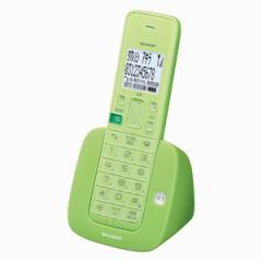 シャープ JD-S07CL-G デジタルコードレス留守番電話機 リーフグリーン[JDS07CLG]【返品種別A】