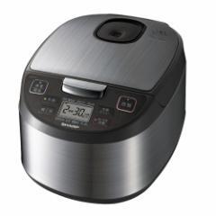 シャープ KS-S10J-S ジャー炊飯器 (5.5合炊き) シルバー系SHARP[KSS10JS]【返品種別A】