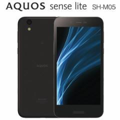 シャープ SH-M05-B SIMフリースマートフォン AQUOS sense lite SH-M05(ブラック)[SHM05B]【返品種別B】