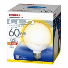 東芝 LDG9L-H/60W LED電球 ボール電球形 8.9W(電球色相当)TOSHIBA E-CORE(イー・コア)[LDG9LH60W]【返品種別A】【SALE商品】