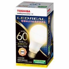 東芝 LDA8L-G/60W LED電球 一般電球形 810lm(電球色相当)TOSHIBA E-CORE(イー・コア)全方向タイプ[LDA8LG60W]【返品種別A】