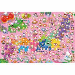 ビバリー ハローキティ ご当地キティ日本地図 1000ピースジグソーパズル 【返品種別B】