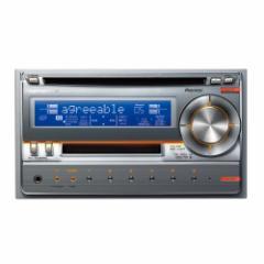パイオニア MD/CD/チューナー・WMA/MP3/AAC/WAV対応メインユニット(シルバー) FH-P530MD-S【返品種別A】