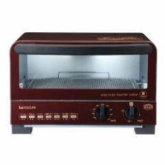 コイズミ KOS-1212/R オーブントースター レッドKOIZUMI[KOS1212R]【返品種別A】
