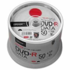 HI-DISC TYDR47JNP50SPMG データ用 16倍速対応DVD-R 50枚パック 4.7GB ワイドプリンタブル[TYDR47JNP50SPMG]【返品種別A】