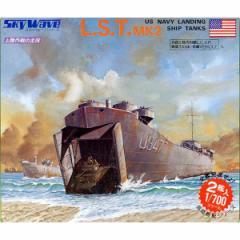ピットロード 【再生産】1/700 米国戦車・車輌用 大型揚陸艦 L・S・T【SW04】プラモデル 【返品種別B】