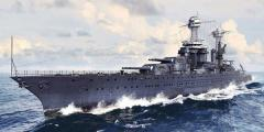 ピットロード 1/700 米海軍 戦艦 BB-43 テネシー 1941【W180】プラモデル 【返品種別B】