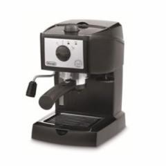 デロンギ EC152J エスプレッソ・カプチーノメーカー ブラック×シルバーDeLonghi[EC152J]【返品種別A】