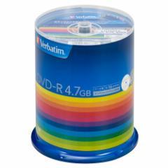 バーベイタム DHR47JP100V3 データ用16倍速対応DVD-R 100枚パック 4.7GB ホワイトプリンタブルVerbatim[DHR47JP100V3]【返品種別A】