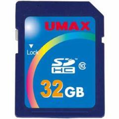 UMAX UM-SDHC-C10-32G SDHCメモリカード 32GB Class10[UMSDHCC1032G]【返品種別A】