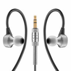 RHA MA750 ハイレゾ対応耳かけイヤホン(シルバー)RHA[MA750RHA]【返品種別A】