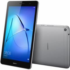 HUAWEI KOB-W09(MPT3SGWIFI) 8.0型タブレットパソコン MediaPad T3 スペースグレー※Wi-Fi対応モデル[KOBW09MPT3SGWIFI]【返品種別B】