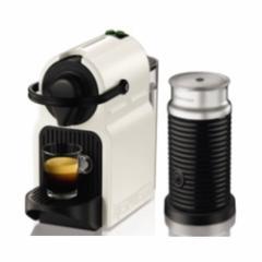 ネスプレッソ ネスプレッソコーヒーメーカー バンドルセット ホワイト Nespresso Inissia(イニッシア) C40WH-A3B【返品種別A】