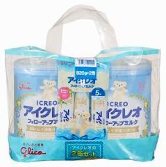 アイクレオ アイクレオのフォローアップミルク2缶セット 820g×2個 (1歳頃から) アイクレオフオオ-アツフミルク820X2【返品種別A】