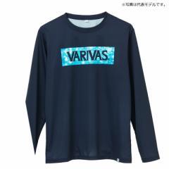モーリス VAT-45 ロングドライTシャツ 3L ウォーター×ネイビー / ウェア 長袖 吸水速乾 UVカット
