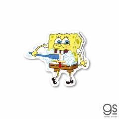 スポンジ・ボブ ミニステッカー 歯磨き キャラクターステッカー アメリカ アニメ SpongeBob SPO017 gs 公式グッズ