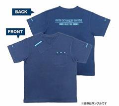9月再販予約分。劇場版コード・ブルー ドクターヘリ緊急救命 VネックTシャツ M