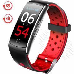 スマートブレスレット smart watch IP68防水 スポーツウォッチ 歩数計 心拍計 活動量計 スマートウォッチ 血圧測定 血中酸素 消費カロリ