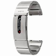 ソニー ハイブリッドスマートウォッチ wena wrist pro Silver WB-11AS【納期未定/入荷次第発送】