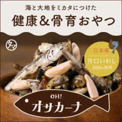 OH!オサカーナ 100g アーモンド 小魚 片口イワシ いりこ 大豆 昆布 チーズ お菓子 おやつ おつまみ 送料無料