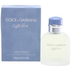 ドルチェ&ガッバーナ DOLCE&GABBANA ライトブルー プールオム EDT・SP 75ml 香水 フレグランス LIGHT BLUE POUR HOMME