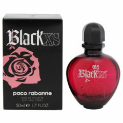 24%OFF 送料無料 香水 パコラバンヌ ブラック エクセス フォーハー EDT・SP 50ml PACO RABANNE BLACK XS FOR HER