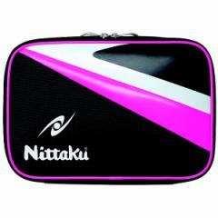 ニッタク NITTAKU アローケース(卓球ラケット2本入れ) [カラー:ピンク] [サイズ:幅30×高さ20×奥行き4cm] #NK-7204-21