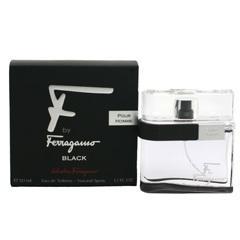 SALVATORE FERRAGAMO エフ バイ フェラガモ プールオム ブラック EDT・SP 50ml 香水 フレグランス F BY FERRAGAMO BLACK POUR HOME
