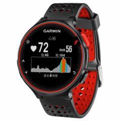 ガーミン GARMIN フォアアスリート235J 日本語正規版 心拍計内蔵GPSウォッチ [カラー:ブラックレッド] #37176H スポーツ・アウトドア