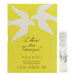 ニナリッチ NINA RICCI レールデュタン (チューブサンプル) EDT・SP 1.2ml 香水 フレグランス L AIR DU TEMPS