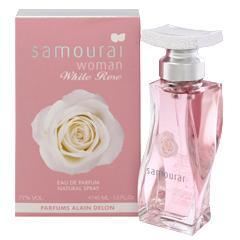 アランドロン ALAIN DELON サムライ ウーマン ホワイトローズ (箱なし) EDP・SP 40ml 香水 フレグランス SAMOURAI WOMAN WHITE ROSE