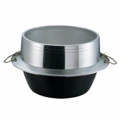 送料無料 ナカオ NAKAO アルミイモノ 豊年釜(カン付) 34cm キッチン用品