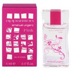 エマニュエル ウンガロ EMANUEL UNGARO アパラシオン ピンク ミニ香水 EDT・BT 5ml 香水 フレグランス APPARITION PINK