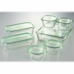 イワキ IWAKI パック&レンジシステムセット (耐熱ガラス) PS-PRN-G7 キッチン用品