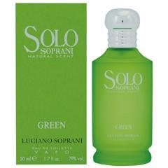 ルチアーノソプラーニ LUCIANO SOPRANI ソロ グリーン EDT・SP 50ml 香水 フレグランス SOLO SOPRANI NATURAL SCENT GREEN