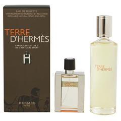 送料無料 テール ドゥ エルメス EDT レフィラブル&レフィル 30ml/125ml HERMES 香水 TERRE D HERMES REFILLABLE AND REFILL
