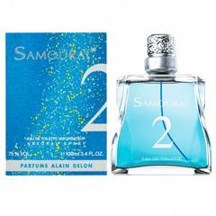 62%OFF 送料無料 【アランドロン】サムライ 2 オードトワレ・スプレータイプ 100ml ALAIN DELON 香水 SAMOURAI 2