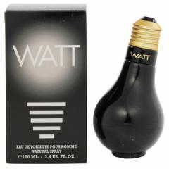 送料無料 ワットブラック オードトワレ・スプレータイプ 100ml WATT 香水 WATT BLACK