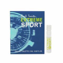 【あす着】ポール スミス PAUL SMITH ポールスミス エクストレーム スポーツ フォーメン (チューブサンプル) EDT・SP 2ml 香水