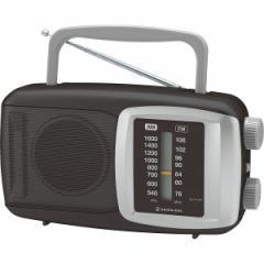コイズミ ホームラジオAM/FM ワイドFM/SAD−7220/K