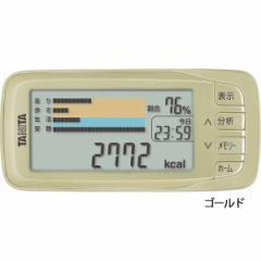 タニタ 活動量計 カロリズムエキスパート歩数計/AM-142-GD